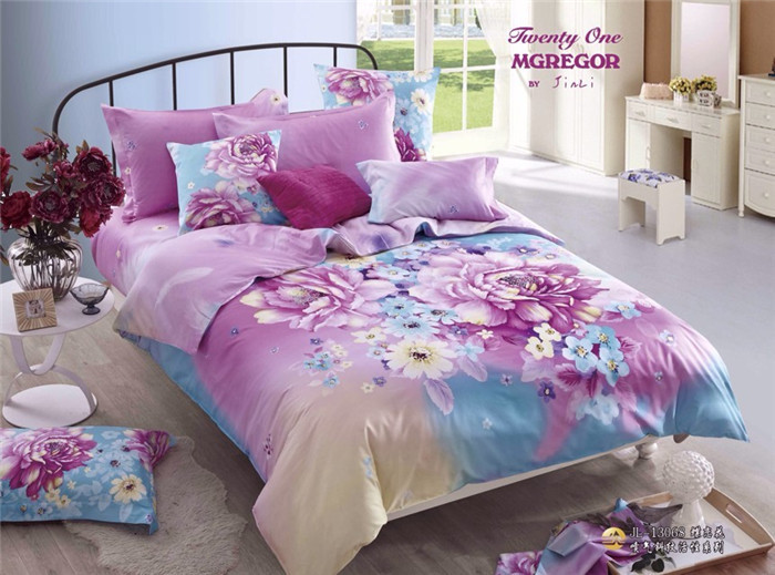 High Quality Beautiful Penoy Bedding Set 4pcs Queen Size