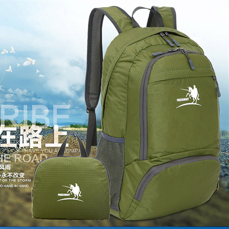2014 best-selling Christmas new large -capacity outdoor travel sports shoulder bag folding waterproof nylon backpack 35L<br><br>Aliexpress