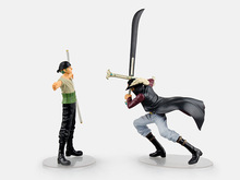 Buy One Piece ZORO Dracule Mihawk Figure Dramatic Showcase Figure Monkey D Luffy 14CM PVC Action Figuras Model for $19.99 in AliExpress store