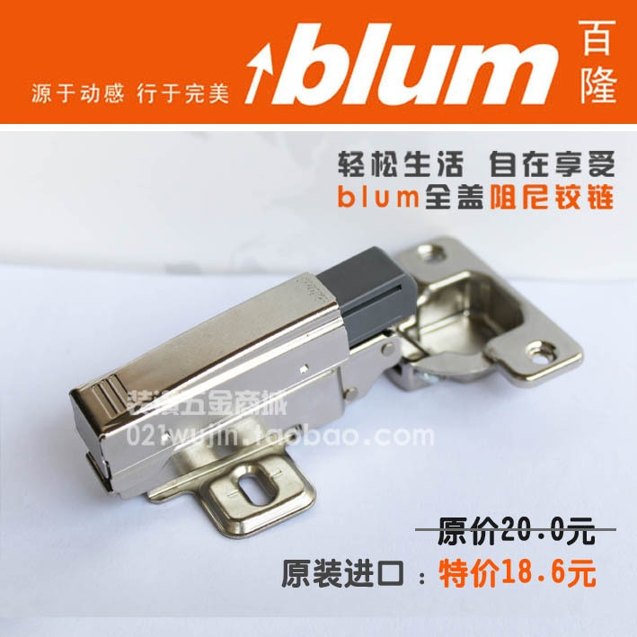 Austria imported special offer cabinet hinge Blum Blum hinge damping hinge hydraulic spring hinge(China (Mainland))