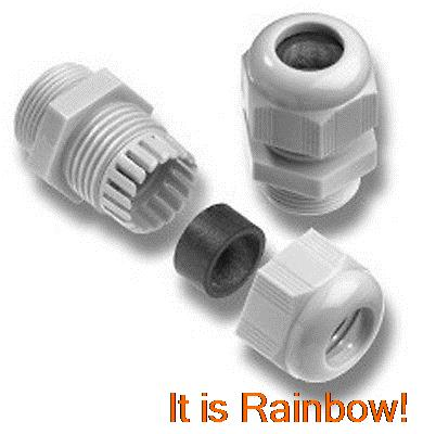 100pcs Waterproof Connector Cable Gland M27 x 1.5<br><br>Aliexpress