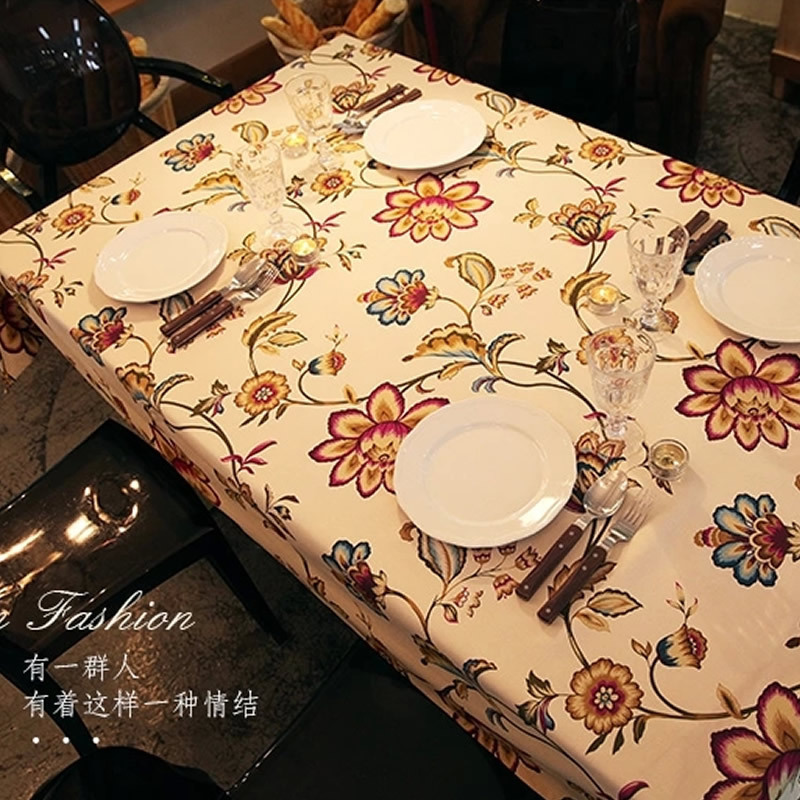 2015 New Pop Art Europe Style Striped Table Cloth Crocheted Printed Table Cotton For Home Banquet Tablecloth(China (Mainland))