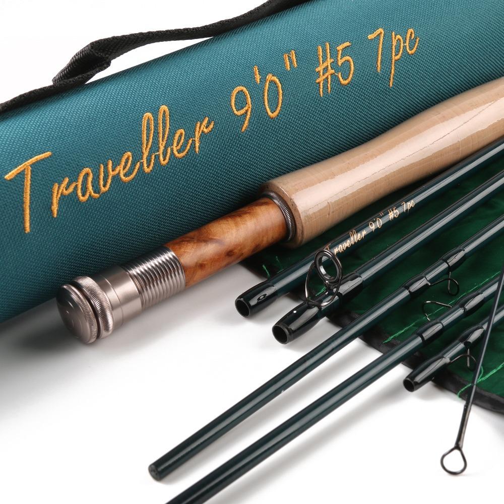 Удочка Maxcatch 9 5WT 7PCS Traveller 9057