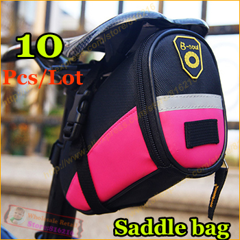 1 Colorful Mountain Bike bag bicycle Saddle Bag Back Seat Tail Pouch Package sport Road Cycling Bicycle - Fashion the benefits cap / glasses clothing accessories stores store