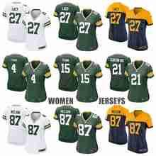 Green Bay Packers Clay Matthews Eddie Lacy Ha Ha Clinton-Dix Bart Starr Aaron Rodgers Brett Favre Randall Cobb for women(China (Mainland))