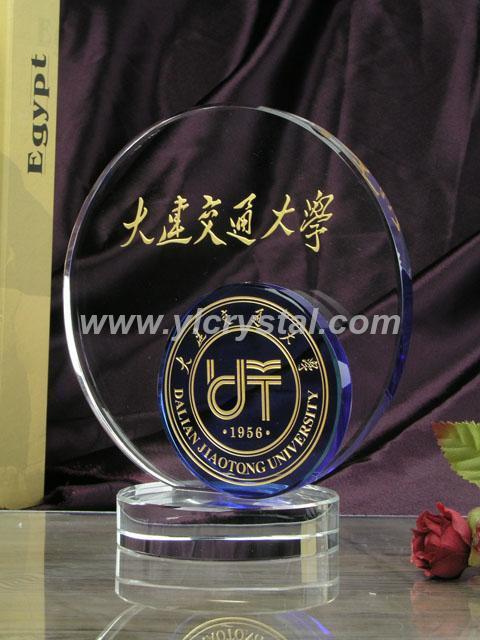 Ner Design Wholesale Souvenir Award Manufacturer China Custom Glass Crystal Trophy(China (Mainland))
