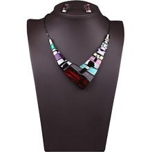Mance 1 Set luxury Jewelry Pendant Chain Women Multiple Splice Alloy Resin Necklace Fashion Pendants Gift 2016 Hot Sale(China (Mainland))