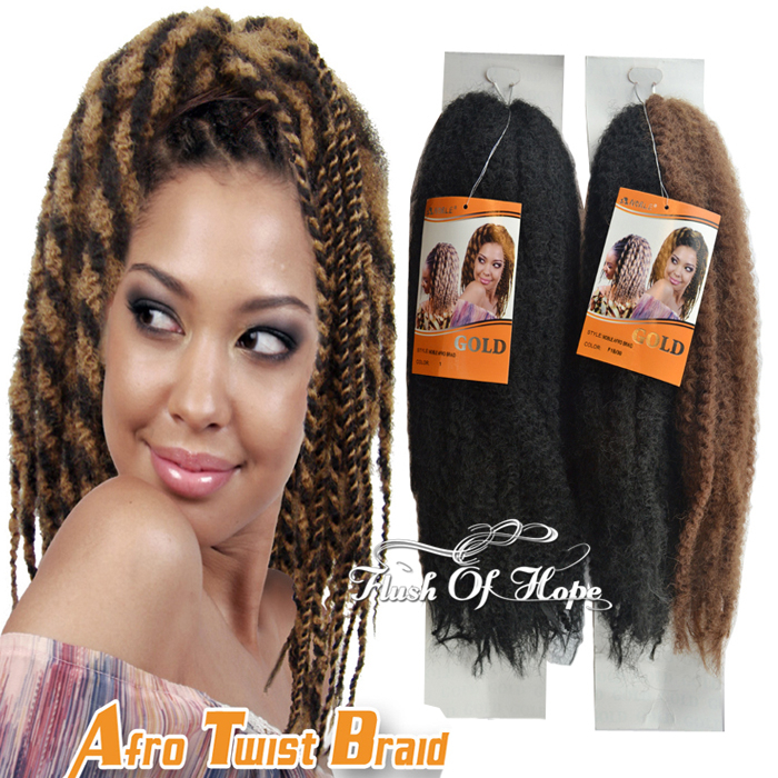 Afro Kinky Braids Hair Picture Gallery