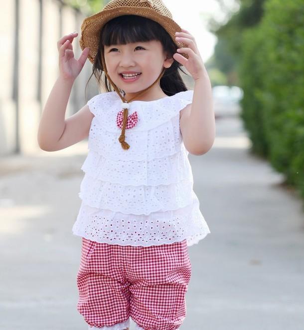 Одежда для детей установить новые летние