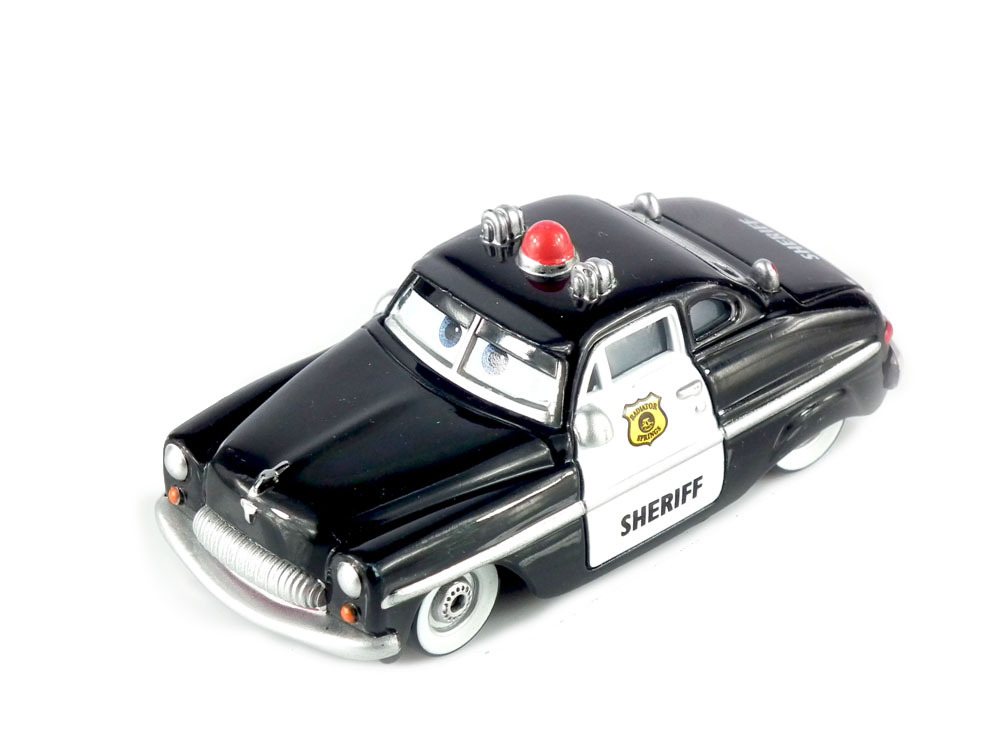 Pixar Cars 2 Sheriff Diecast Metal Classic Toy cars for Kids Children(China (Mainland))