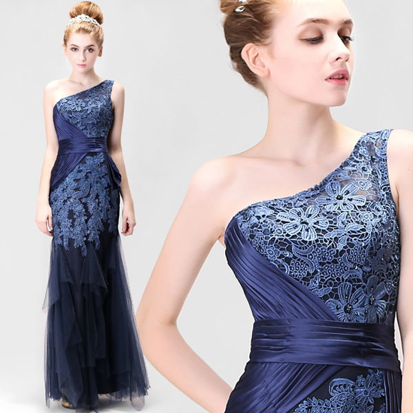 z 2015 new stock plus size women pregnant bridal gown wedding dress Blue lace fish tail train tailing sexy slim bling blue 5910(China (Mainland))