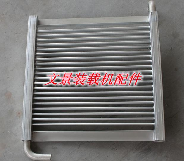 Mini loader accessories small wheel loader parts hydraulic oil cooler (aluminum)(China (Mainland))