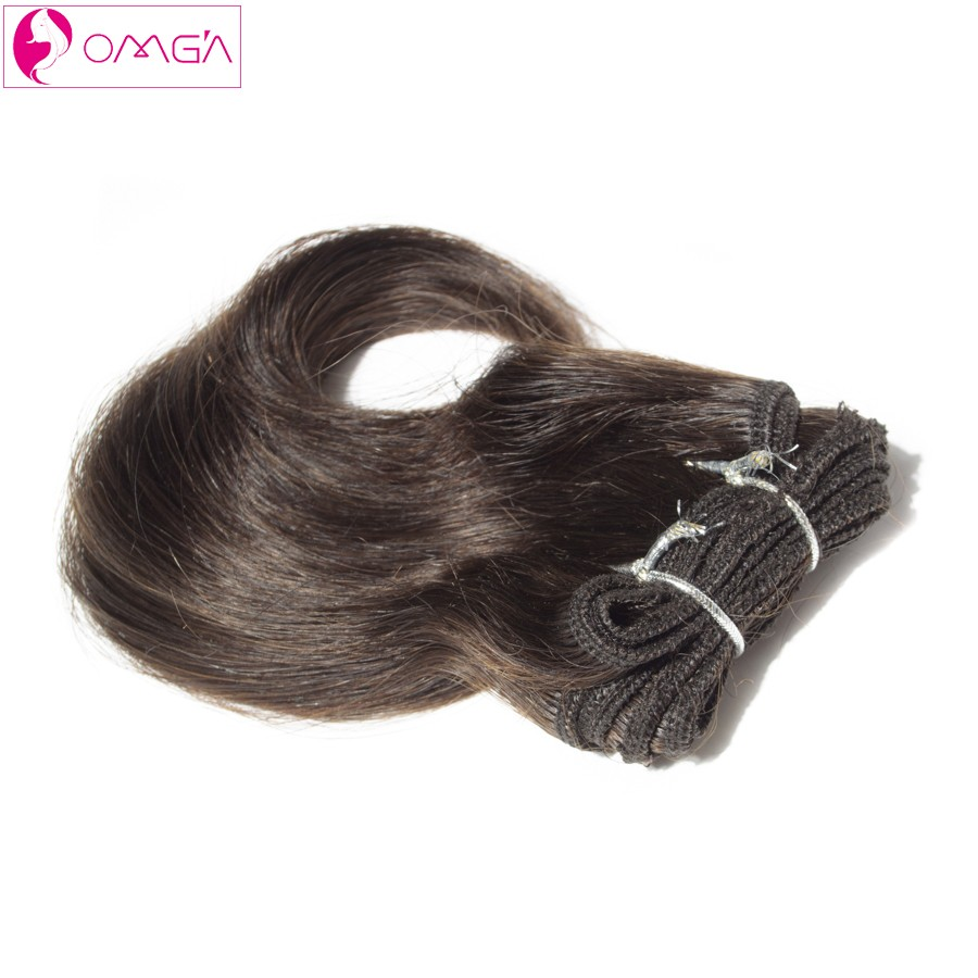 OMGA Malaysian Virgin Hair Body Twist Human Hair Weaves Malaysian Body Wave 2*8′ 2*10′ 4pcs Hair Extensions #1B #2 #4 120g/Set