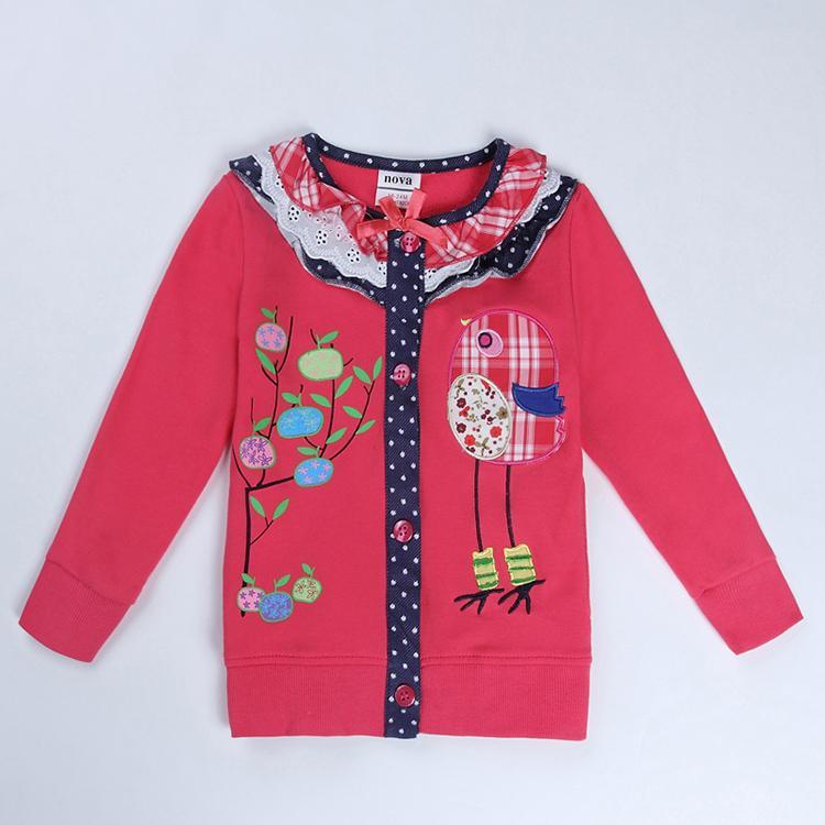 girls t shirt childdren clothing brand kids clothes novelty spring/autumn long sleeve baby t shirts for girls(China (Mainland))