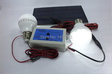 100pcs/lot 2pcs Low Voltage 2.4w Bulb Removable Light 3.3w Solar Panel Led Bulb Lamp Cool White Solar Led Light(China (Mainland))