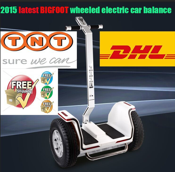BIGFOOT electric scooter two-wheel balance car hinking two rounds automatic instead walking - Ricky Chan' store