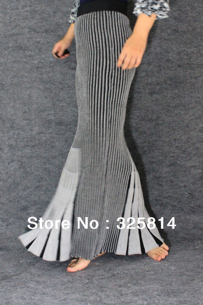 Western vintage sexy two way skirt women's tight/knitted/mermaid skirt Free shipping