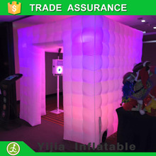 Free shipping Best quality Portable inflatable photo booth cube  tent(China (Mainland))