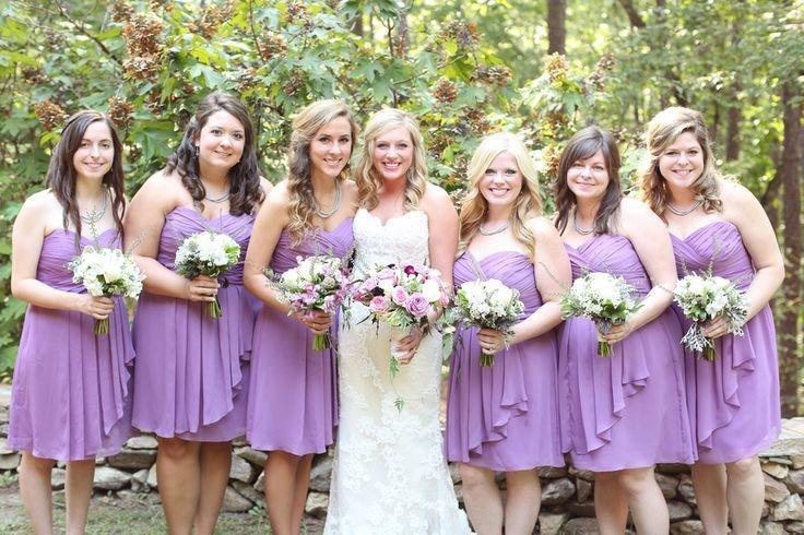 Online Buy Wholesale knee length light purple bridesmaid dress ...