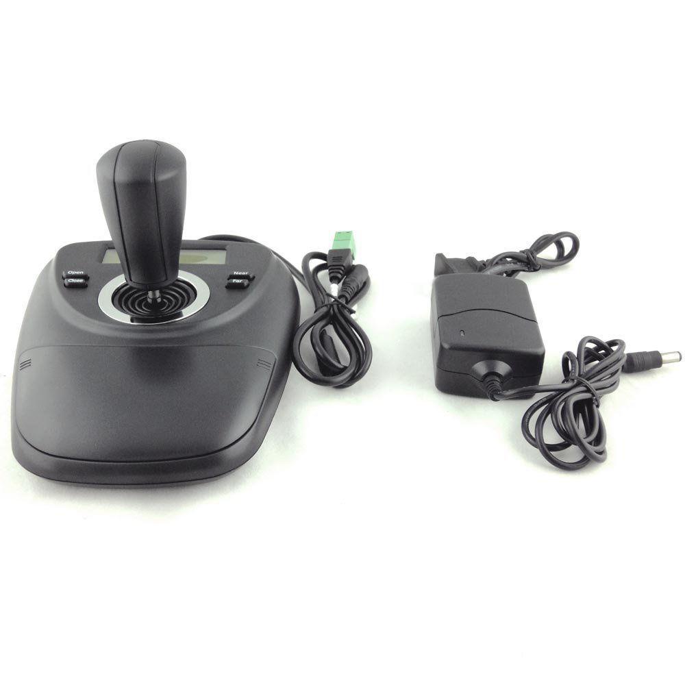 PTZ Keyboard Controller 3D Joystick for CCTV Pan Tilt Zoom Speed Dome Camera(China (Mainland))