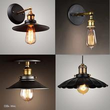Modern Brief  Ceiling Light Edison bulb North European Vintage Iron lamp bedroom lamp bar lighting black Ceiling lights(China (Mainland))