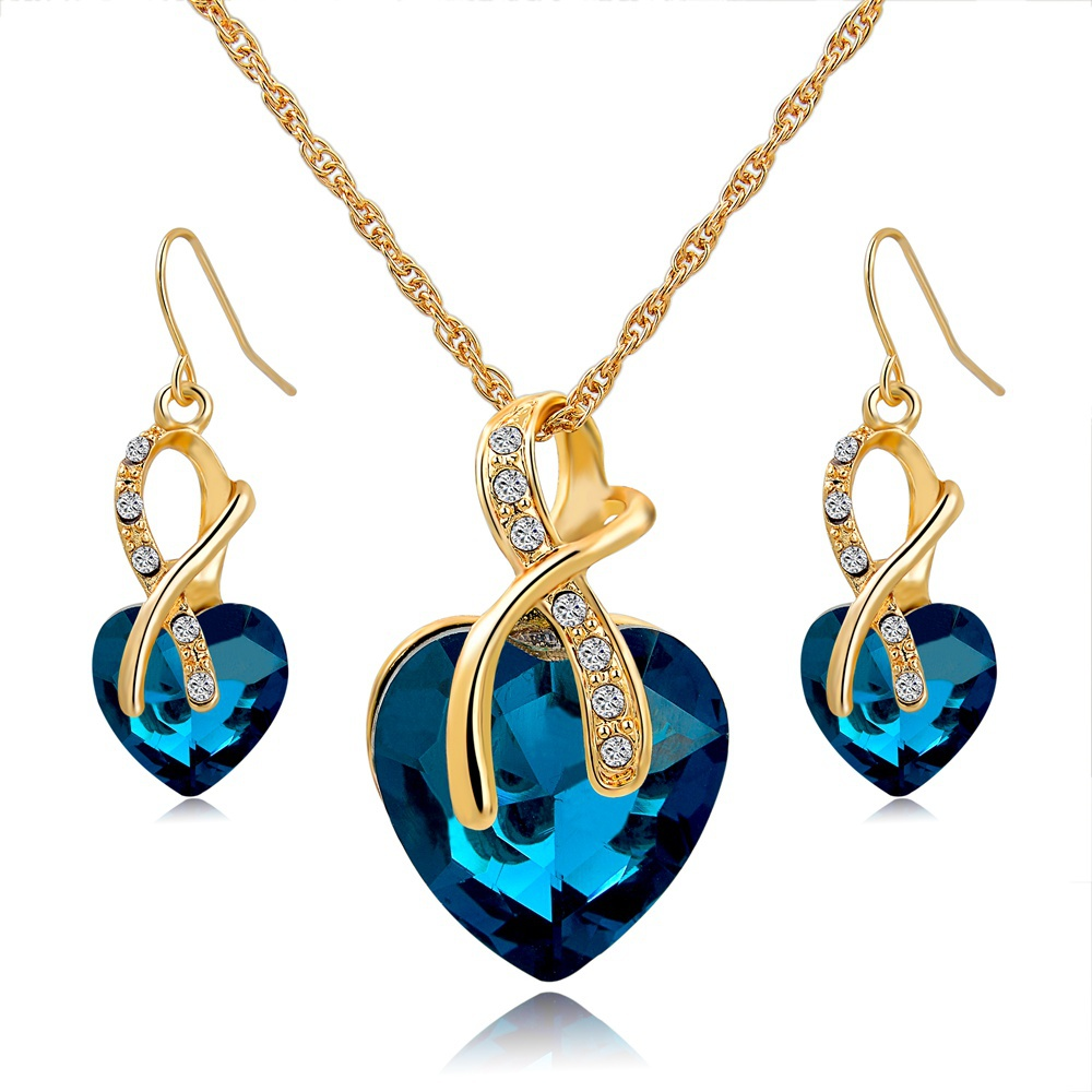 Buy gift gold plated jewelry sets for for Drop shipping jewelry business