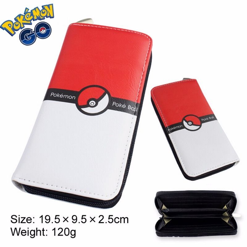 font b Pokemon b font font b Go b font Women Long Card Holder Case
