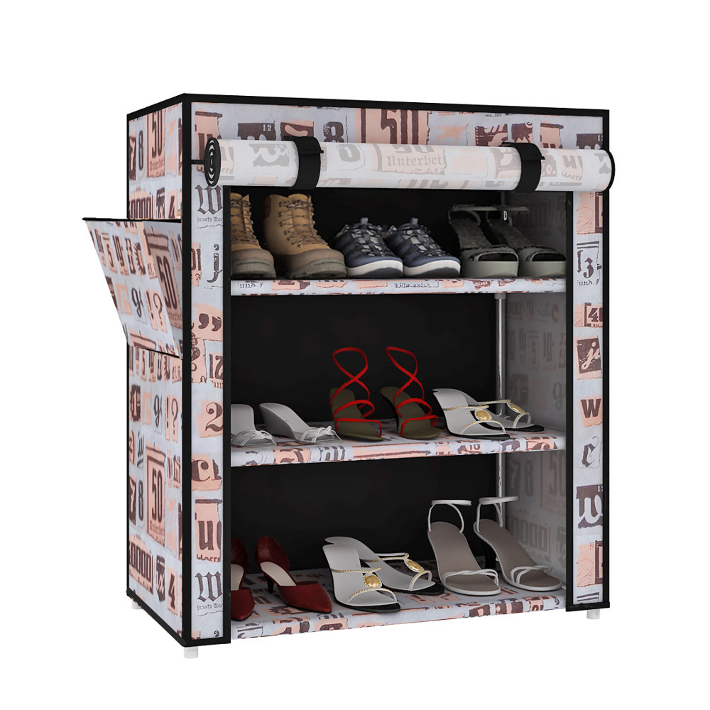Portable 3 Layer Home Shoe Rack Shelf