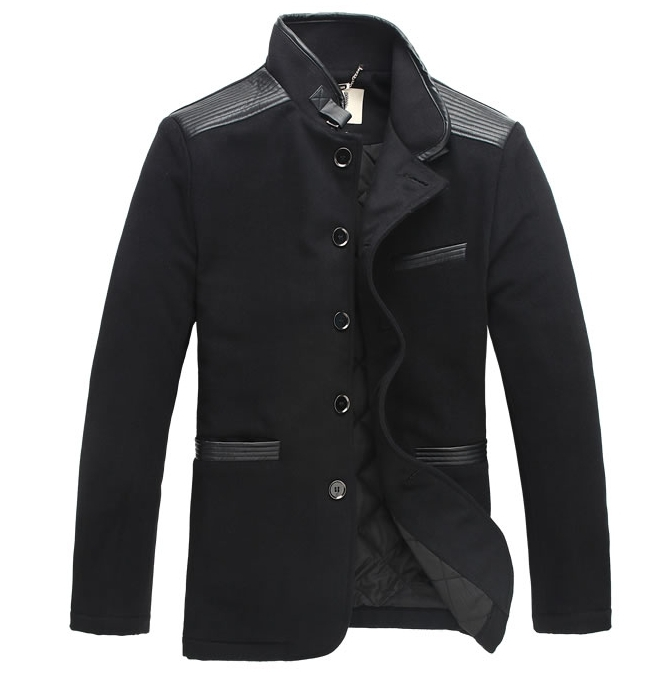 Hot!! 2013 Winter New Large Size Men's Business Casual Fleece Jacket , Fashion Motorcycle - T Y HUI's store