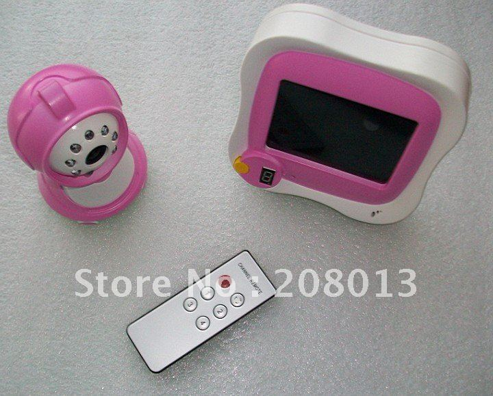Wholesale Fast shipping 3.5 inch wireless baby monitor topselling cheap(China (Mainland))