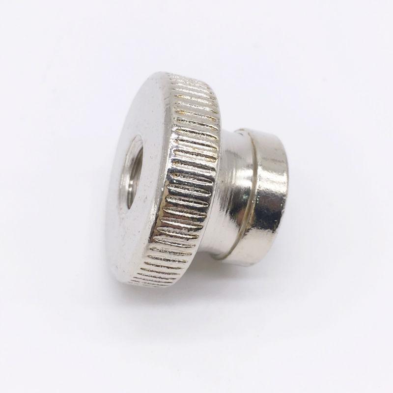 Knurled Thumb Nuts Steel M5 Metric Nickel Plating<br><br>Aliexpress