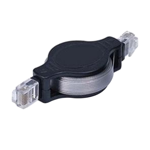 Best Selling New 4.9FT Portable Retractable RJ45 Ethernet Wire LAN Cord Internet Network Cable 5JQY 7BY3(China (Mainland))