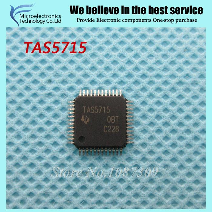 5PCS free shipping TAS5715PHPR TAS5715 QFP-48 Audio Amplifiers 25W Stereo I2S Audio Amp new original(China (Mainland))