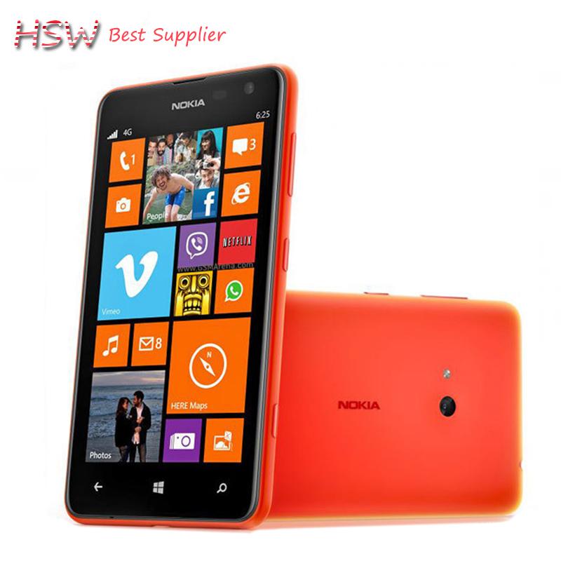 100% Original Unlocked Nokia Lumia 625 cell phone 4.7 ...