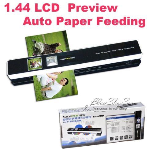 Фотография Skypix TSN480 Portable Scanner Automatic Paper Feeding Mini Office Scanner HD 1200dpi High Speed A4 Wireless Offline Scan