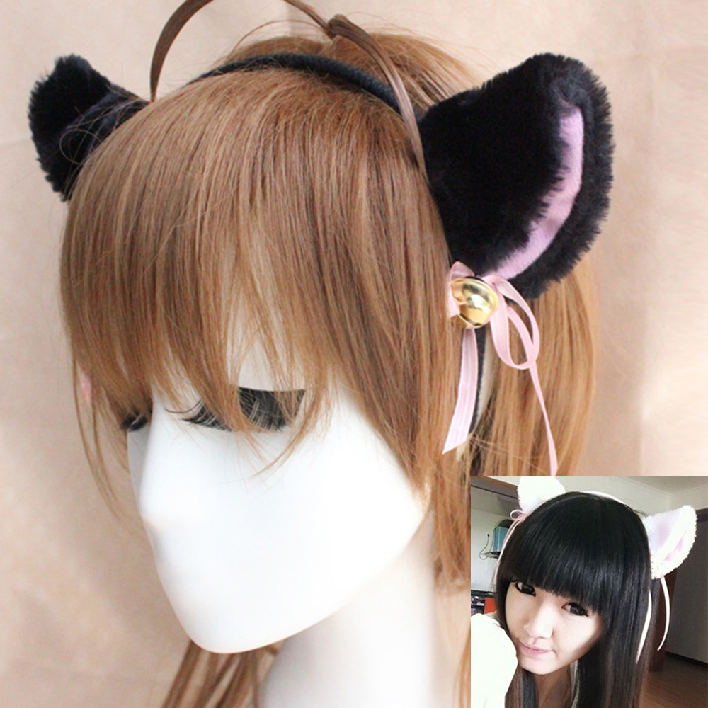 2017 New Fashion Cat Shape Headband For Women Cosply Hair Bands Cat ear Hairband Plaited Braided Hair Accessories(China (Mainland))