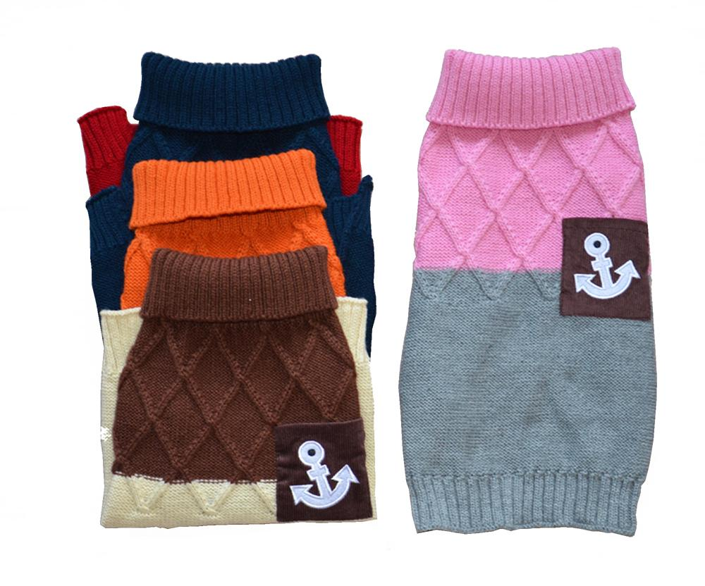 Hot Selling Sweater for Dog Pet Cat Sweater Dog Jumper Dog Clothing Small Dog Pet Clothes XS S M L XL Wholesale Retail(China (Mainland))