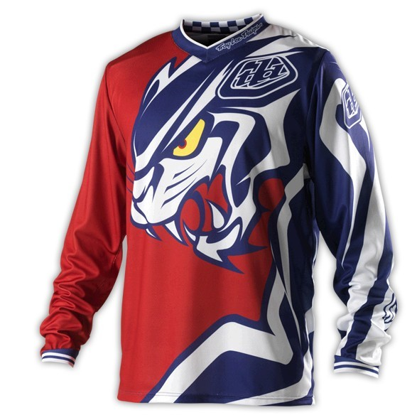 Troy Lee Designs GP Jersey Predator MX Offroad cycle Sports Jersey moto Wear T-shirts(China (Mainland))