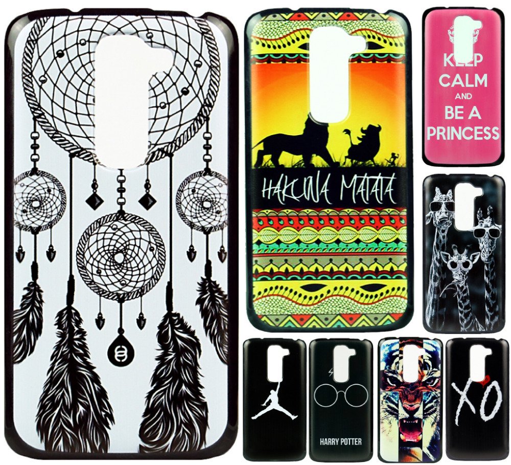 Cover Case LG Optimus G2 D618 D620 Mini New Brand Unique Cute Pattern Design Hard Plastic Mobile Protective Phone  -  ShoppingCenter store