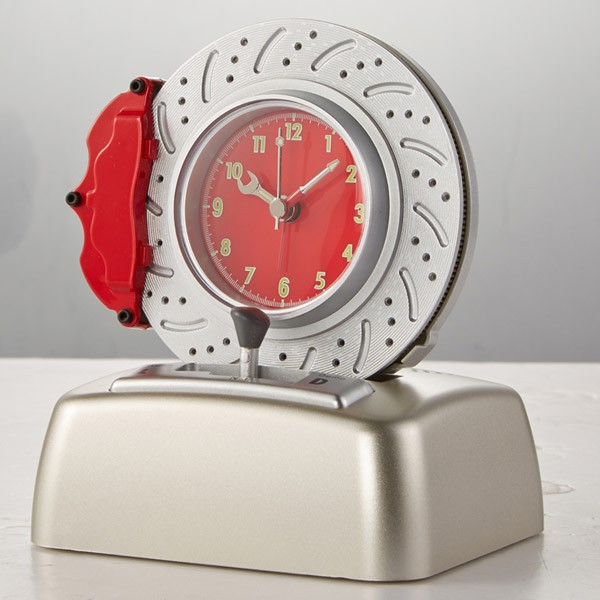 Free Shipping Rotating Brake Disc Alarm Clock Type Three ...