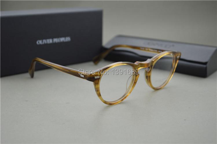 640a41caf46 2019 Vintage Optical Glasses Frame Oliver Peoples Ov5186 Eyeglasses ...