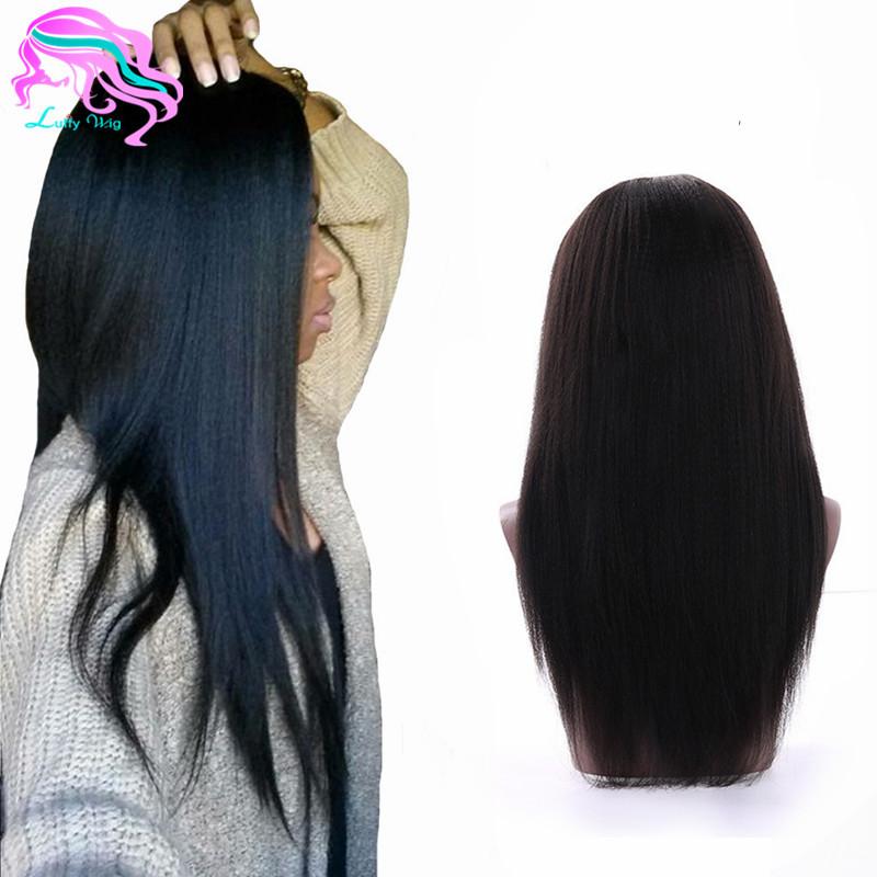 Yaki Human Hair Wig 50