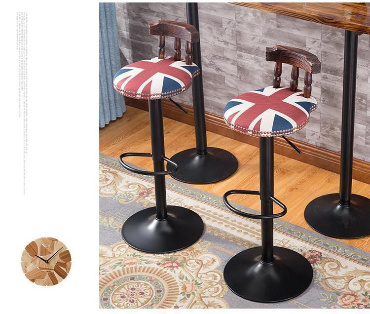 Fashion Coffee Chair Popular European And American Bar Night Market Street  Black Brown Gold Green Blue Color Free Shipping