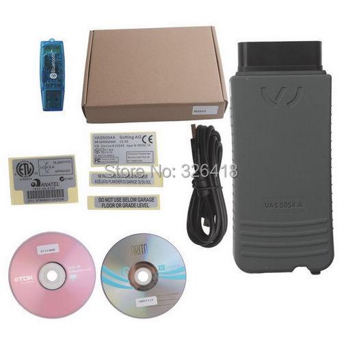 OBDDIY 1pc Full chips VAS 5054A UDS protocol VAS5054A PC VAS PC with oki chip VAS VW ODIS 2.0.2 crack vag odis 2.0 download(China (Mainland))