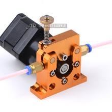 3d extruder  3d printer  reprap kossel prusa bowden  Full Metal remote extruder