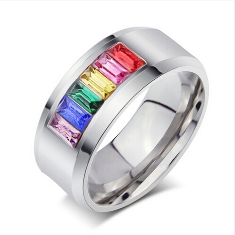 2016 Promotion Hot Sale Sapphire Jewelry Rings Multicolor
