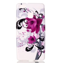 Huawei P 9 Lite TPU Bag Cover Patterned Case P9 / G9 - Kapok Flowers Tvcmall online 6 Store store
