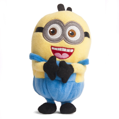 Hot!!! Despicable Me small yellow man Toy Plush Doll Case Cover For ZTE Era Mobile Smart Phones(China (Mainland))