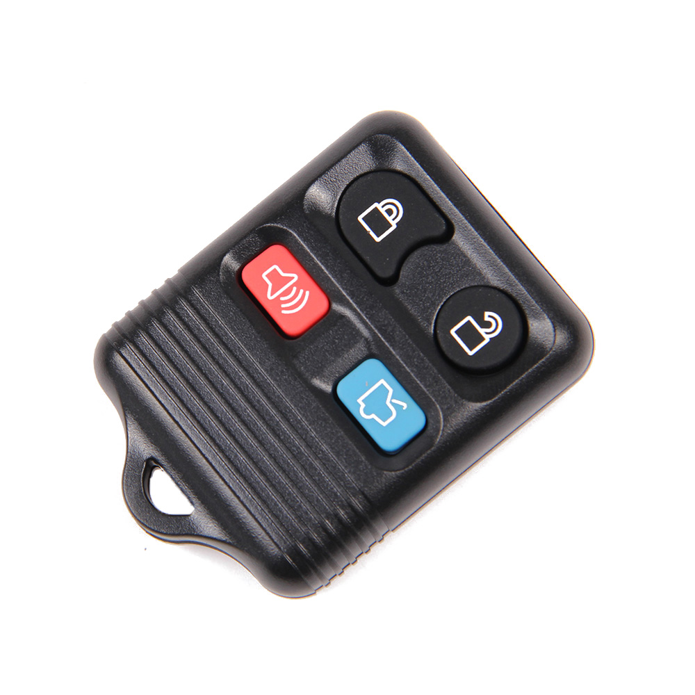 New 4 Buttons Remote Key Shell Case Fob For Ford Mustang Focus Lincoln LS Town Car Mercury Grand Marquis Sable Free Shipping(China (Mainland))