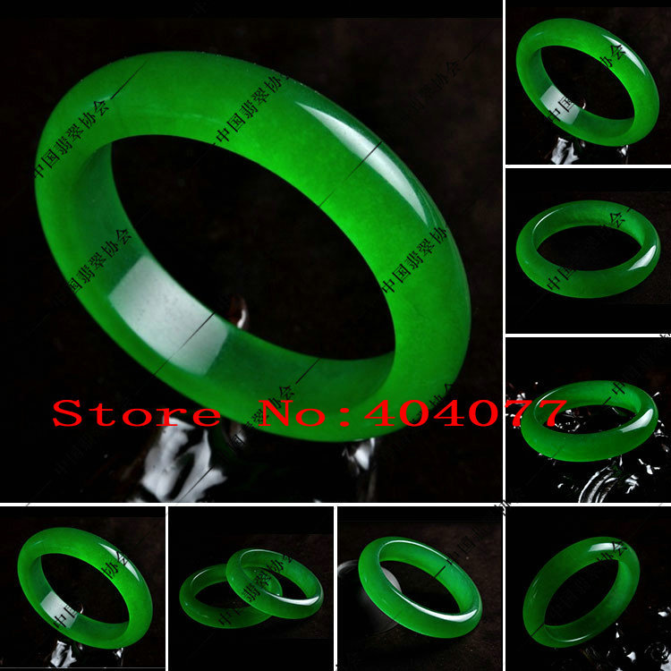 - Fashion green great circle Jade Bracelets 100% Bracelet original picture xinchaoliu2010 store